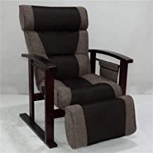 LONGren Height Adjustable Leather Recliner with Pull Out Stool Living Room Modern Reclining Sofa Chair Armchair Furniture ...