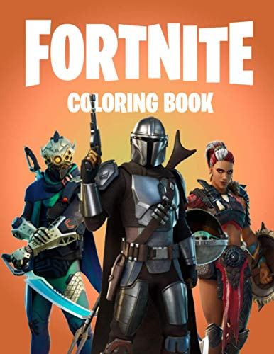 fortnite Coloring Book: 16 Coloring Pages for Kids and Adults [unofficial]