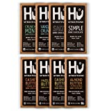 Hu Chocolate Bars | 8 Pack VARIETY SAMPLER PACK | Natural Organic Vegan, Gluten Free, Paleo, Non GMO, Fair Trade Dark Chocolate | 2.1oz Each