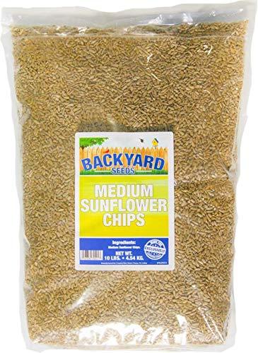 Backyard Seeds Medium Sunflower Chips 10 Pounds