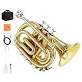 Eastar ETR-330 Trompette de Poche en Si bémol pour Débutant