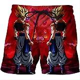 Natación Pantalones Cortos Verano 3D Impreso Hombres Moda Playa Pantalones Cortos...