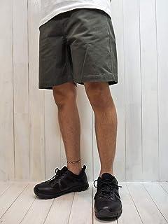 Magine(マージン) CTN SERGE WASHED BASIC SHORTS コットン サージ ウォッシュド ベーシック ショーツ (オリーブ) /ショートパンツ/チノ/膝上/メンズ/カジュアル/シンプル/日本製