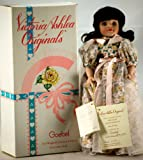Victoria 1997 - Goebel Ashlea Originals - Designed by Karen Kennedy - #298 of 1250 - August Birthday Porcelain Doll - with Stand - w/ Peridot Necklace - Limited Edition - Out of Production - New