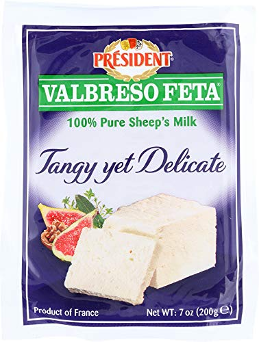 (NOT A CASE) French Feta Cheese 100% Pure Sheep's Milk