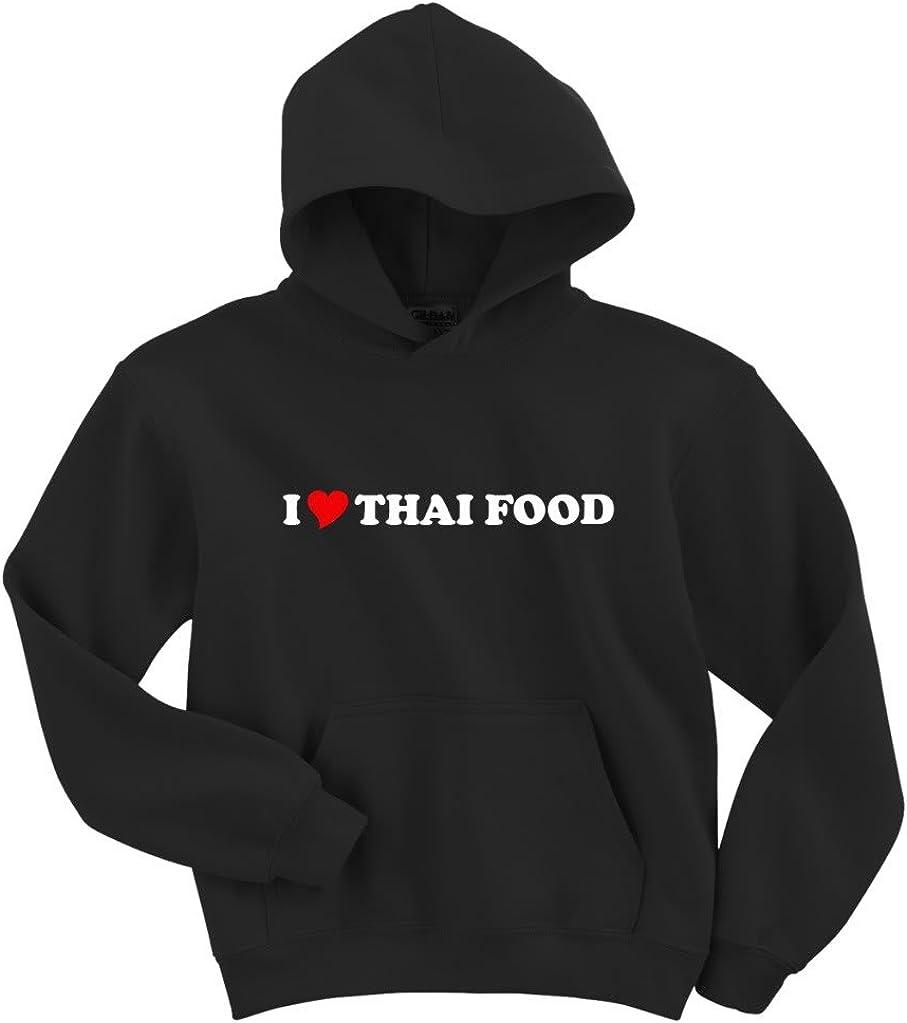 Gildan I Love Thai Food Hoodie Sweatshirt