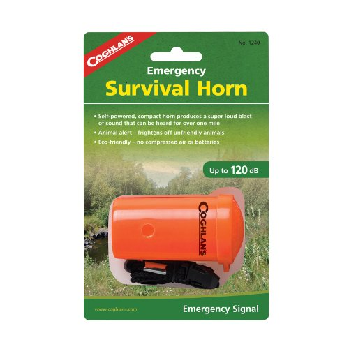 Coghlans, Emergency Survival Horn, Orange (1240)