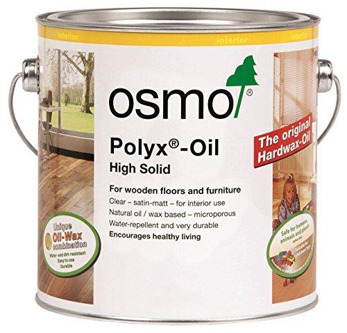 Osmo Polyx Hartwachs-Öl Rapid Clear 2,5 Liter 3232D, Transparent, matt, 2,5 l