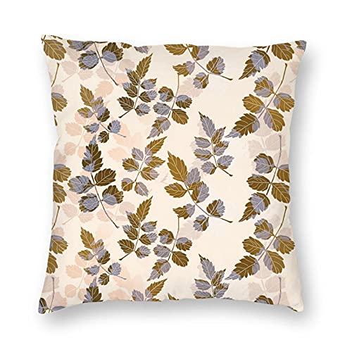 Deja una funda de almohada súper lujosa suave y cómoda, antiarrugas. Con cremallera oculta, decorar la sala de estar, el sofá y el dormitorio.