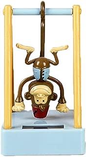 CHSHU Solar Powered Dancing Monkey Toy Animal Solar Powered Dancing Dolls Swinging Animated Bobble Dancer Car Decor Desktop Figurines Car Dashboard Office Desk Home Decor Solar Toy (Monkey(BU))