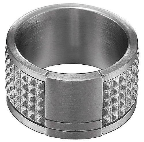Esprit Herren-Ring Edelstahl rhodiniert rocks XL