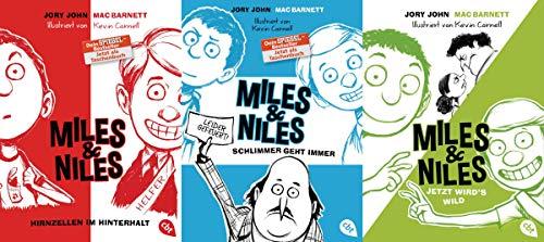 Die Miles & Niles-Reihe Band 1-3 plus 1 exklusives Postkartenset (Kinder)