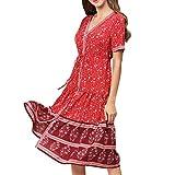 Kuty Vestido Boho, Vestidos Mujer, Floral Vestido, Vestidos Largos, Cuello en V