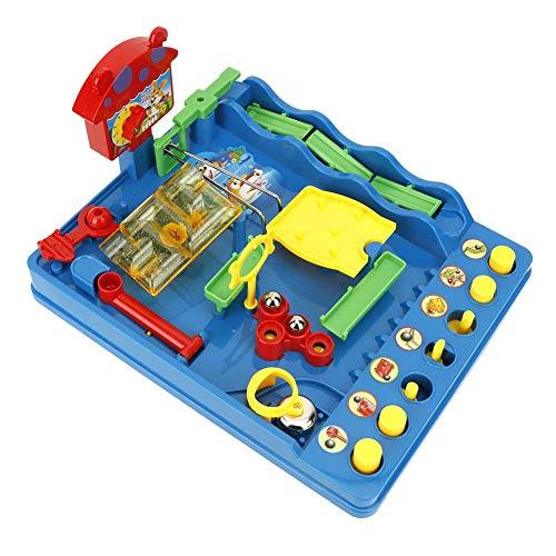 idalinya Mini Water Park Maze, tragbares Desktop-Spielspielzeug für Erwachsene/Kinder, umweltfreundliches und ungiftiges Material, geeignet zum Spielen mit der Familie