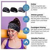 Zoom IMG-2 baozun sport headband sweatband antiscivolo