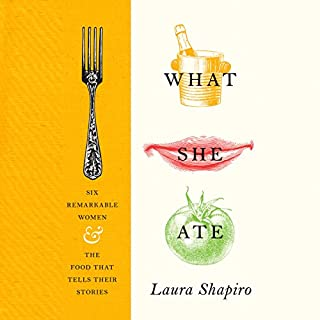 What She Ate audiobook cover art