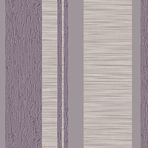 Parato Natura 2044–Tapeten-Lavendel Stripe, grau und Knochen