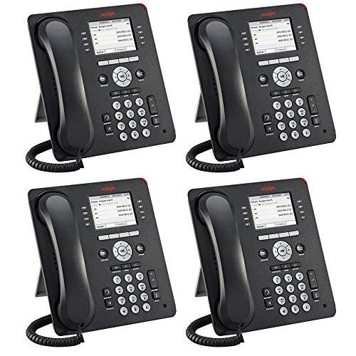 Avaya 9611G 4 PACK IP Gigabit Office Phone 700510904 (Renewed)