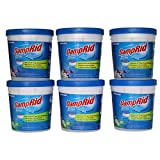 DampRid - 3 Fresh Scent, 3 Lavender Vanilla - Refillable Moisture Absorber - 6 Pack of 10.5 oz cups - Traps Moisture for Fresher, Cleaner Air
