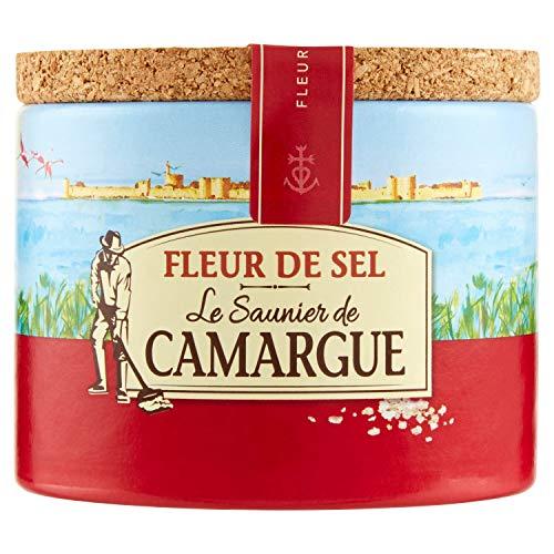 Le Saunier De Camargue Sale da Cucina Fleur de Sel, 125g