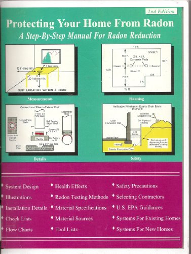 Protecting Your Home From Radon: A Step By Step Manual for Radon Reduction (Second Edition)