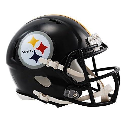 257c2e75c Riddell Pittsburgh Steelers NFL Replica Speed Mini Football Helmet