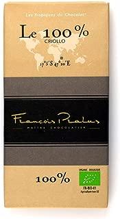 Pralus Le 100% Chocolate Bar 3.5 Ounce