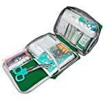 First Aid Kit -Compact First Aid Bag(175 Piece) - Reflective Bag Design- Includes 2 x Eyewash,Instant Cold Pack… 9