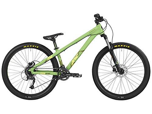 Bergamont Kiez 040 26'' Dirt MTB Fahrrad grün/gelb 2016: Größe: L (170-180cm)