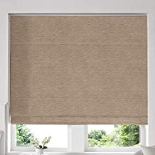 Blinds2Curtains Beige 240H x 200W cm Hadley Cashew Roman Window Blinds