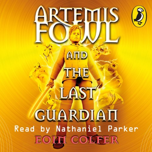 The Last Guardian: Artemis Fowl, Book 8 cover art