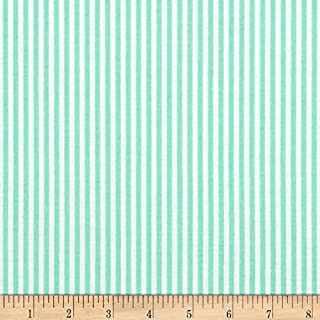 Riley Blake Designs Riley Blake 1/8in Stripes Sweetmint Quilt Fabric By The Yard, Sweetmint