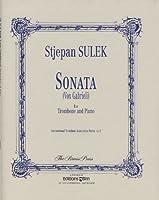 SULEK S. - Sonata (Vox Gabrieli) para Trombon y Piano