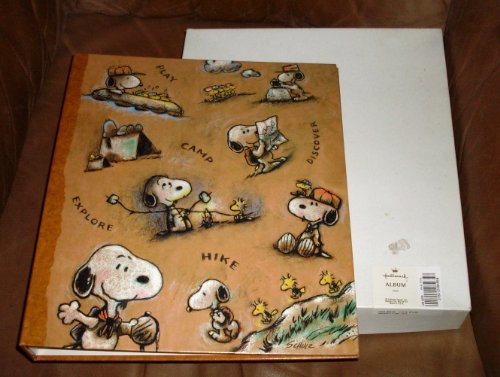 Hallmark Peanuts SNOOPY SCOUT Scrapbook Photo Album - NEW BOXED