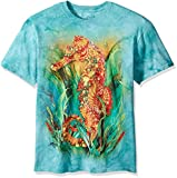 The Mountain Seahorse Adult T-Shirt, Teal, XL