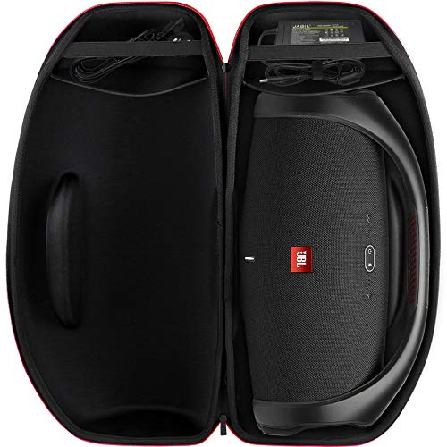 Hard Travel Case Compatible for JBL Boombox 2 - Waterproof Portable Bluetooth Speaker. Storage Carrying Box Fits for Jbl Branded Power Adaptor (Box Only)