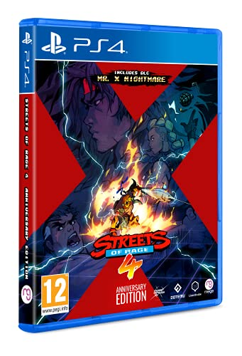 Streets Of Rage 4 Anniversary Edition (Playstation 4)