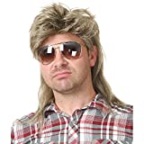 Charades Unisex-Adult's Joe Dirt Wig, Blonde, One Size