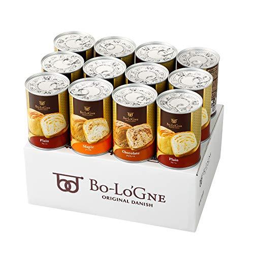 【お買い得袋】 缶deボローニャ 保存食パン 12缶セット