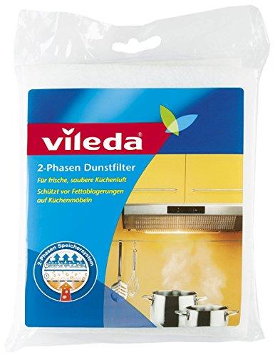 Vileda 2-Phasen Dunstfilter, Universalformat, 1er Pack