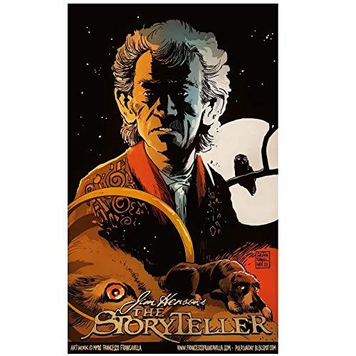 The Storyteller (1988) serie de televisión mostrar carteles lienzo pintura arte cartel imprimir pared del hogar decoración de la sala de estar -50x70cm Sin marco
