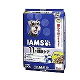 アイムス (IAMS) ドッグフード 11歳以上用 毎日の健康ケア 小粒 チキン シニア犬用 8kg