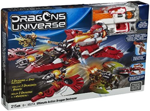 Mega Bloks 95214 - Ultimate Action Dragon Destroyer