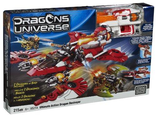 Mega Bloks - 95214U - Set construcción - Dragones