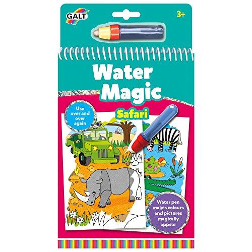 Galt Toys Water Magic Safari - Set di Figurine colorabili Lavabili.