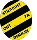 Freestyle Libre Adhesive Patch Precut Outta Insulin Design Adhesive Patches with Split Backing, Easy to Apply x 10 Pack