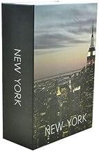 Cofre Camuflado Porta Joias Dinheiro Livro 24x16x6 cm cor:preto nyork