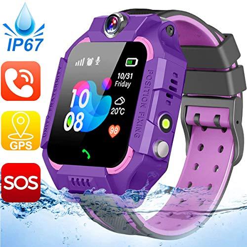 Waterproof Kids Smart Watch-GPS Tracker Smartwatch Phone for...