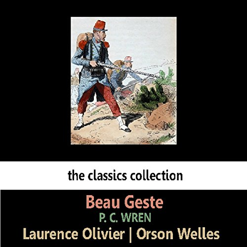 Beau Geste (Dramatised) audiobook cover art