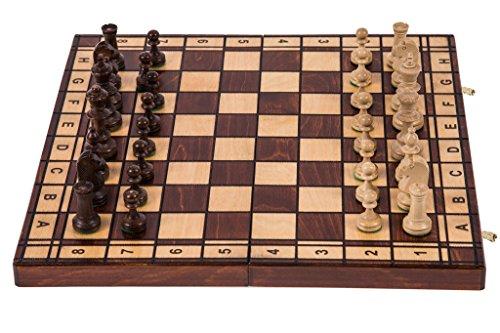 Square - Ajedrez de Madera - Jupiter - 40 x 40 cm - Piezas de ajedrez & Tablero de ajedrez